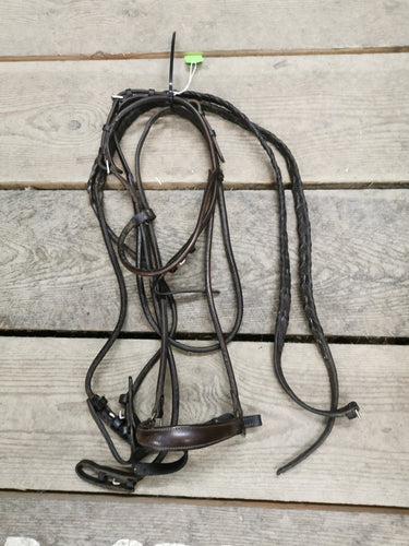 Brown Leather Bridle - Horse