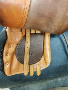 "16"" All Purpose English Saddle"