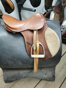 "16"" All-Purpose English Saddle"
