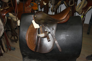 "17"" Barclay All-Purpose English Saddle"