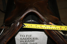 "Load image into Gallery viewer, 16.5"" Kieffer Close Contact English Saddle"
