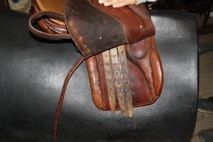 "15.5"" Pastene English Saddle"