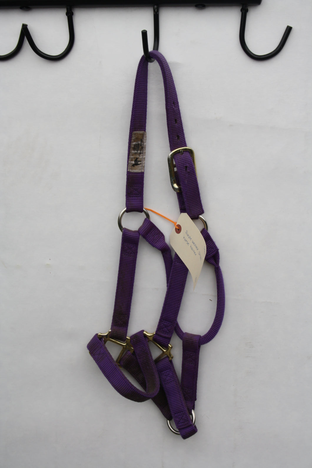 Purple Weaver Halter - Small Horse