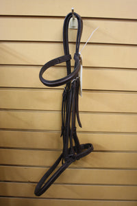 Brown Leather Horse Sized Bridle
