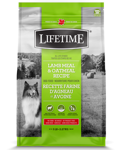 Lifetime Lamb & Oatmeal 25 LB