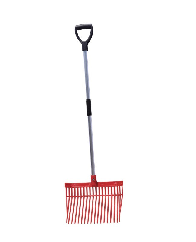 Tuff Stuff Square Barn Fork with Aluminum Handle
