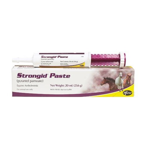Strongid P Dewormer Paste 20mL