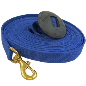 Nylon Lunge Line with Rubber Stopper