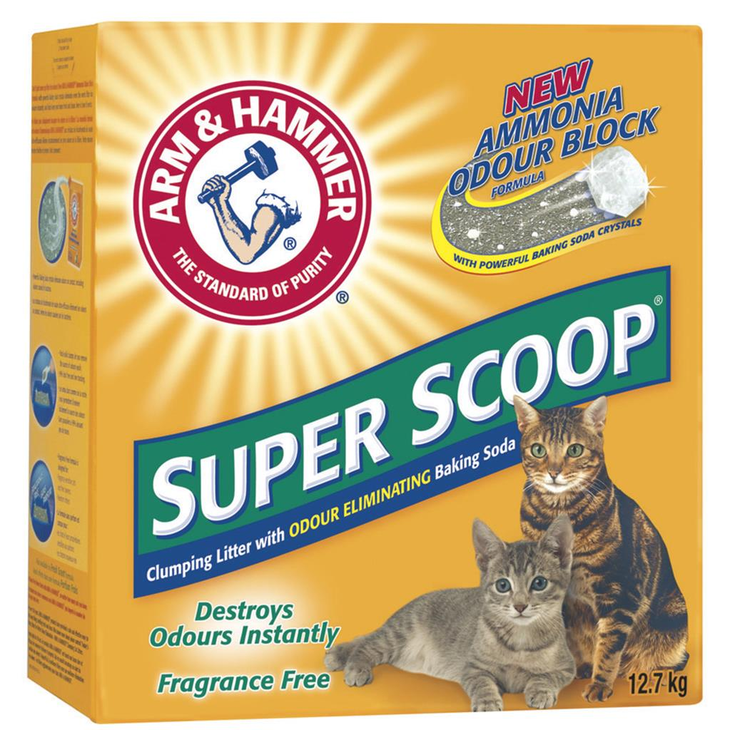 Arm & Hammer Super Scoop Clumping Litter Unscented 12.7KG