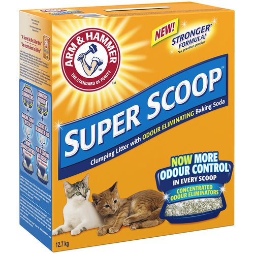 Arm & Hammer Super Scoop Clumping Litter Scented 12.7KG