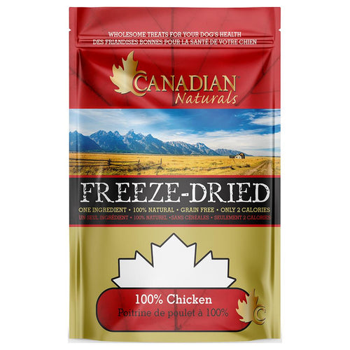 Canadian Naturals 100% Chicken Freeze Dried Treats - 150gm