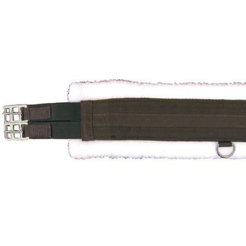 Fleece Lined Girth with Double End Elastic