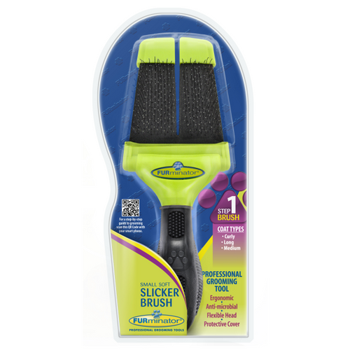 Furminator Soft Small Slicker Brush