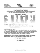 Load image into Gallery viewer, Hi Pro Goat Mineral Premix 20 kg