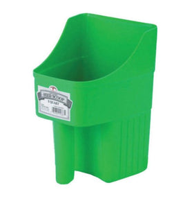 Little Giant 3 Qt Enclosed Feed Scoop - Green