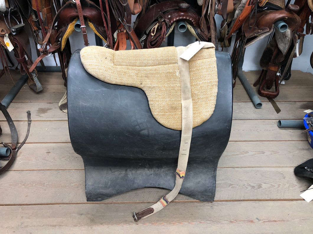 Yellow Bareback Pad