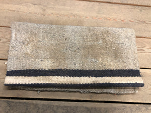 White and Blue Western Rug