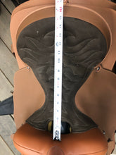 "Load image into Gallery viewer, 15"" Lami-Cell Western Saddle with Breastplate & Cinch"