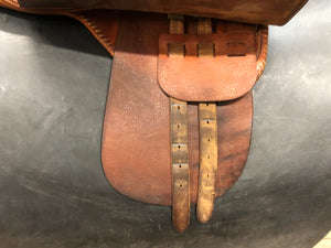 "21.5"" Cutback Crosby Saddle"