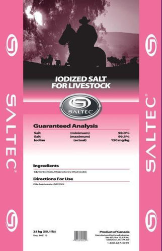 Saltec Loose Iodized Salt Bag 25kg