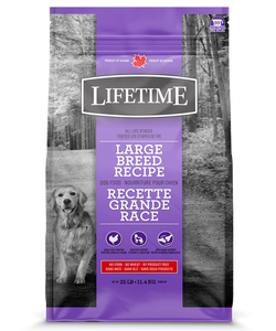 Lifetime Large Breed Chicken & Oatmeal 25 LB
