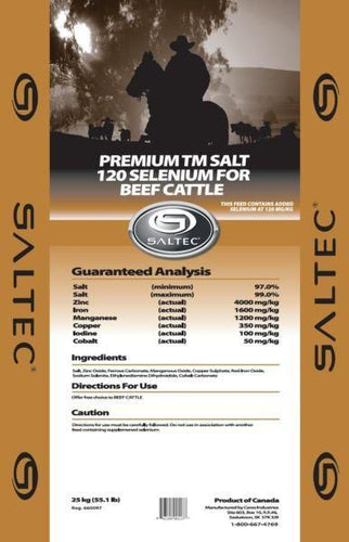 Saltec Loose Trace Mineral Bag with Selenium 120 mg/kg (ppm) 25kg