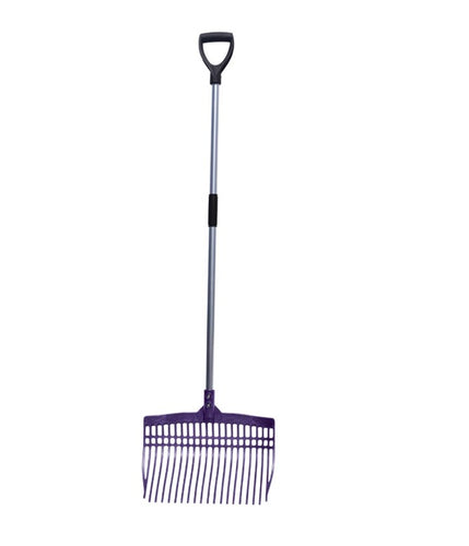 Tuff Stuff Super Rake with Aluminum Handle