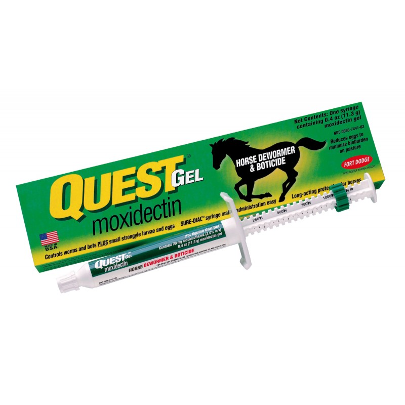 Quest Gel Dewormer Paste 10.9mL