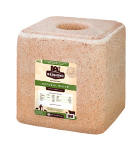 Redmond Natural Mineral Salt Block 20kg