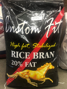 Custom Fit Rice Bran, Stabilized 17.24KG