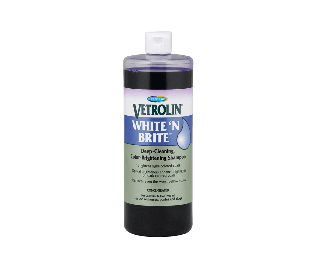 Vetrolin White 'n Brite Shampoo 32oz