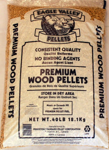 Eagle Valley Wood Pellets 40lb