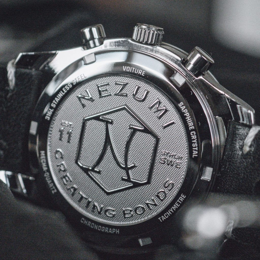 Nezumi Loews Chronograph watch case