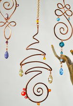 Load image into Gallery viewer, Passion Unalome Suncatcher Made with Swarovski Crystal Elements