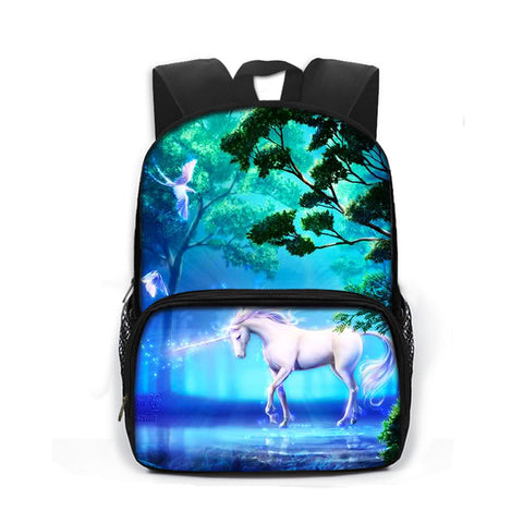 Cartable Licorne Arc en Ciel