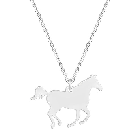 Collier Maille Cheval