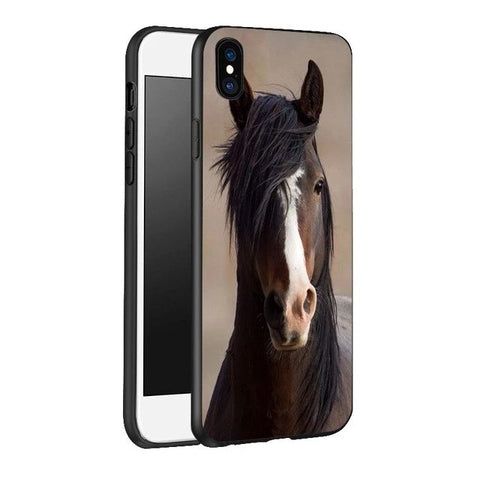 Coque Cheval iPhone SE