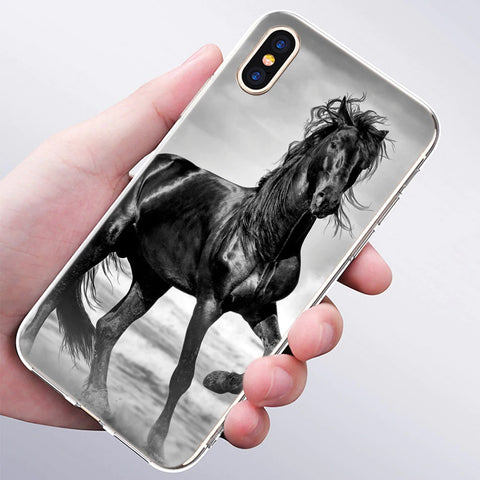 Coque iPhone 5s Chevaux