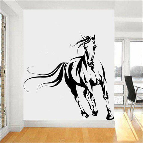 Stickers Cheval Muraux