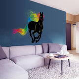 Grand Sticker Mural Cheval