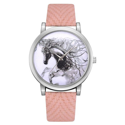 Montre Cheval Rose