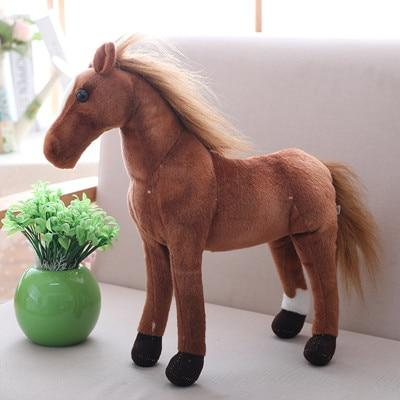 Peluche Cheval Marron