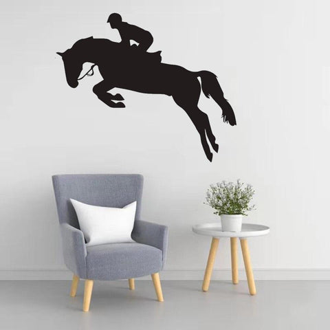 Stickers Cheval Chambre Fille