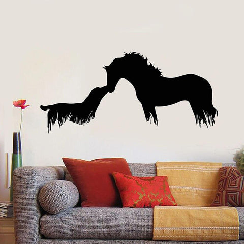 Stickers Cheval Chien