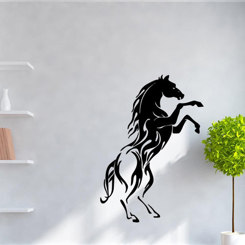 Sticker Cheval Chambre Fille