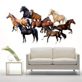 Stickers Muraux Chevaux