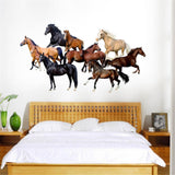 Stickers Chambre Fille Chevaux