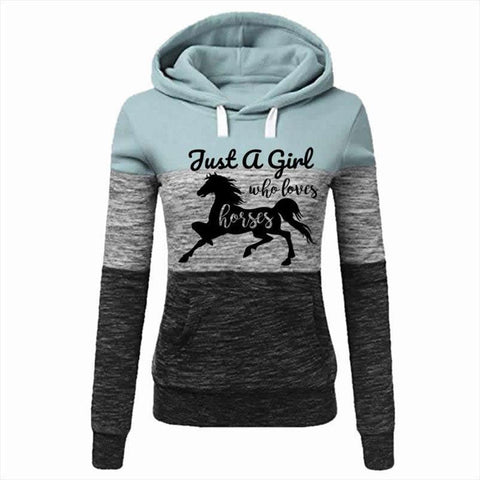 Sweat Cheval Femme