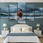Tableau Cheval Plage