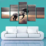 Tableau Cheval Paysage